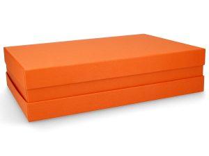 Premium Geschenkverpackung Orange