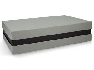 Premium Geschenkverpackung - Grau-Schwarz