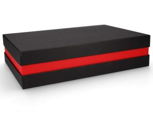 Premium Geschenkverpackung - Schwarz Rot