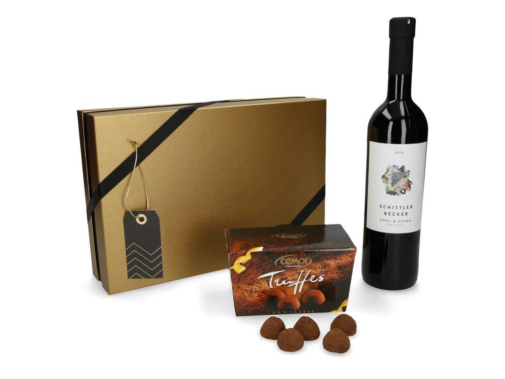 Kundengeschenke online bestellen - Wein & Trüffel