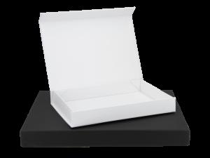 Magnetboxen / Magnetfaltboxen in weiß oder schwarz