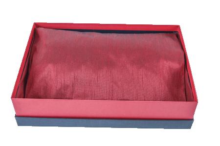 Kissen als Inlay für Verpackung