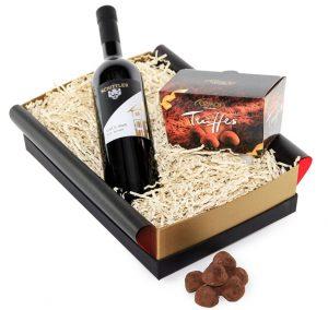 Geschenkset für Mitarbeiter / Weinbox