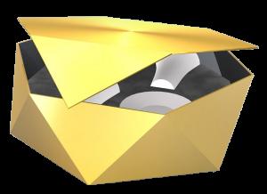 Geschenkverpackung 3D-Rendering