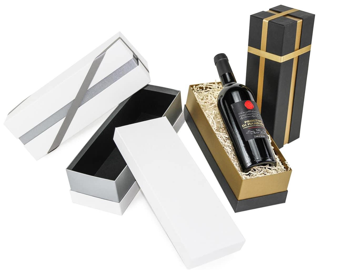Weihnachtsgeschenke für Kunden finden - Geschenkset Wein