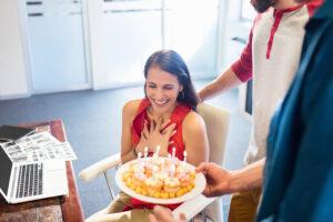 Geburtstagswünsche für Mitarbeiter