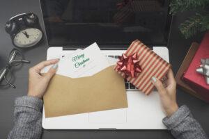 Weihnachtsgrüße an Kunden