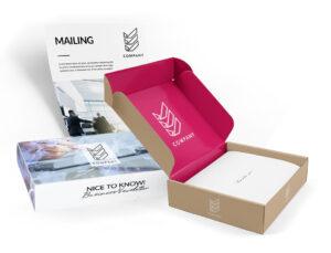 Geschenkbox für Mailings