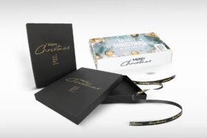 Geschenkverpackung Weihnachten für Kundengeschenke